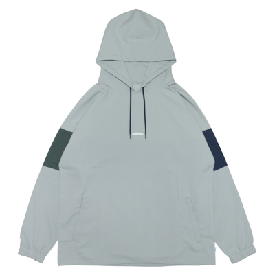 3Tone ANYWHERE Hoodie (gray/navy/dark green)