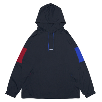 3Tone ANYWHERE Hoodie (black/blue/red)