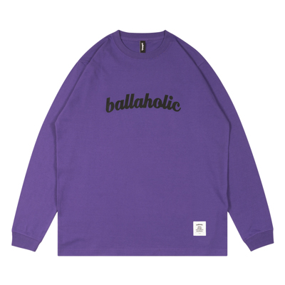 LOGO LongTee (purple/black)