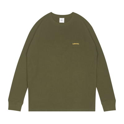 Logo Thermal Long Tee (olive)