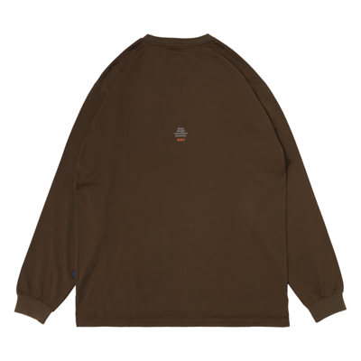b Playground Pocket LongTee (brown)