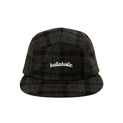 LOGO Wool Jet Cap (gray/brown)