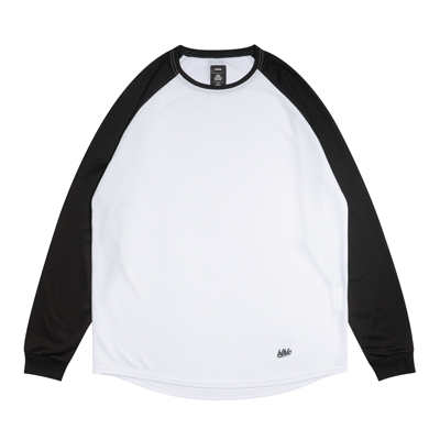 2 Tone blhlc Cool Long Tee (white/black)