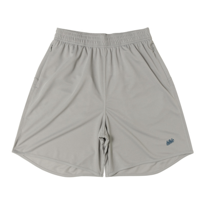Basic Zip Shorts (gray/harbor blue)