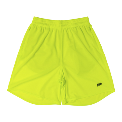 Basic Zip Shorts (volt/black)