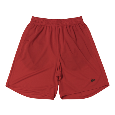 Basic Zip Shorts (red/black)