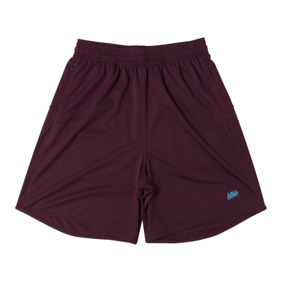 Basic Zip Shorts (crimson/sax)