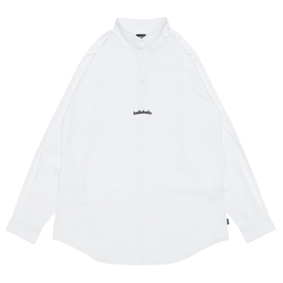 Small LOGO Henley Shirts (white)