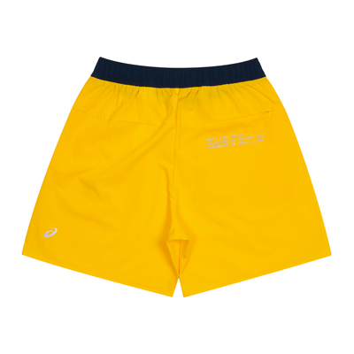 ASICS x ballaholic Zip Shorts (yellow)