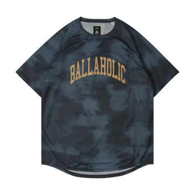 Tie-Dye Pattern COOL Tee (navy)