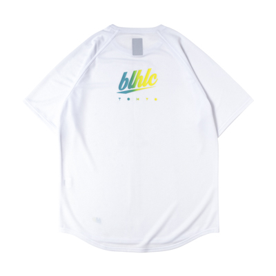 blhlc TOKYO COOL Tee (wht/tiffany yelw gradation)