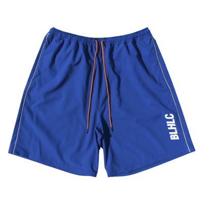 BLHLC Reflector Line Zip Shorts (blue)