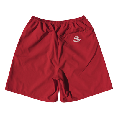 BLHLC Reflector Line Zip Shorts (red)