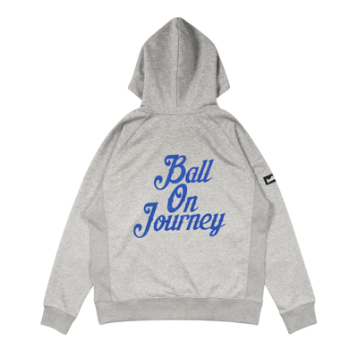 Ball On Journey Hoodie (gray)