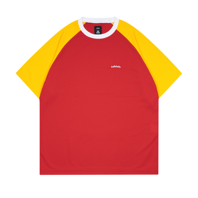Logo 2 Tone Cool Tee (red/yellow)