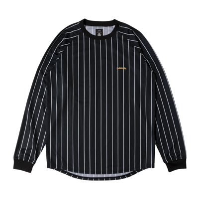 LOGO STRIPE COOL LongTee (black/white)
