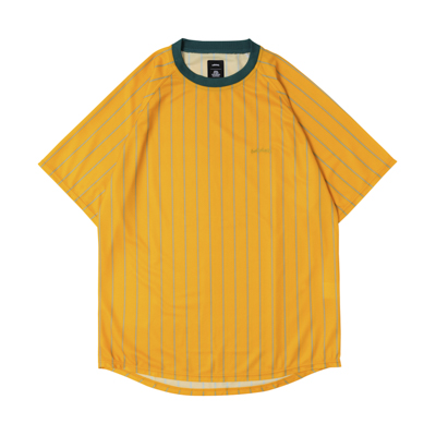 LOGO STRIPE COOL Tee (yellow/gray)