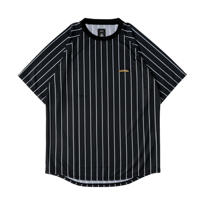 LOGO STRIPE COOL Tee (black/white)