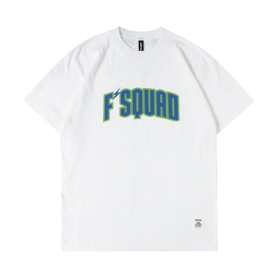 F'SQUAD Tee (white/blue)