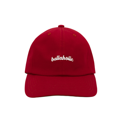 LOGO 6P Cap (red)