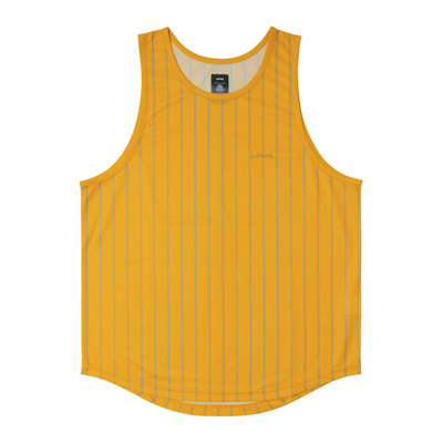 LOGO STRIPE TankTop (yellow/gray)