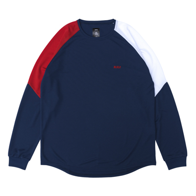 BLHLC 3Tone COOL LongTee (navy/red/white)