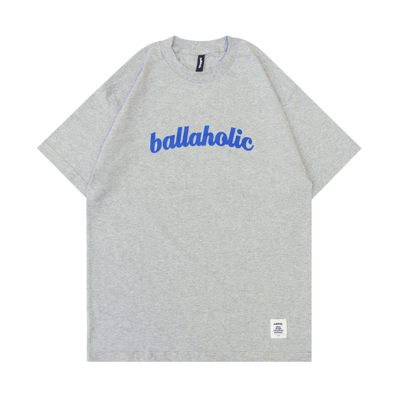 LOGO Tee (heather gray/blue)