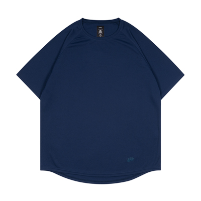 blhlc Heat-Check Cool Tee (navy)