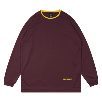 BALLAHOLIC COOL LongTee (crimson/yellow)