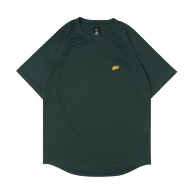 blhlc COOL Tee (dark green/yellow)