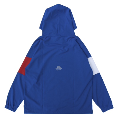 3Tone ANYWHERE Hoodie (blue/red/white)