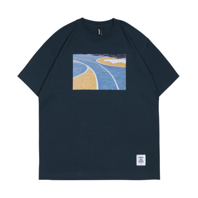 Playground Photo Tee -The Cage- (slate)
