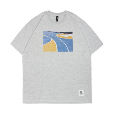 Playground Photo Tee -The Cage- (ash)
