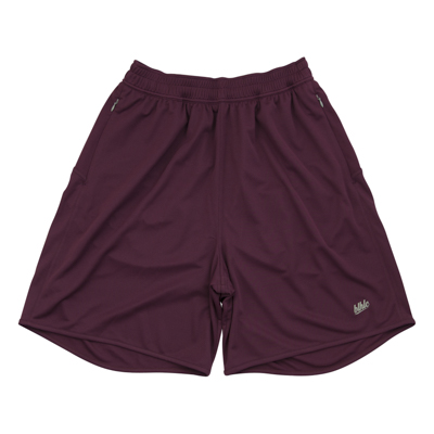 Basic Zip Shorts (crimson)