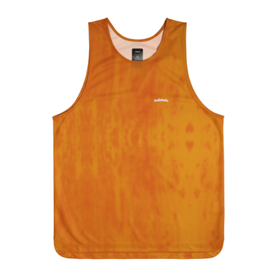 Water Pattern LOGO TankTop (orange)