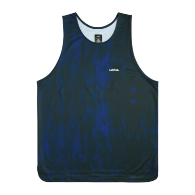 Water Pattern LOGO TankTop (blue)