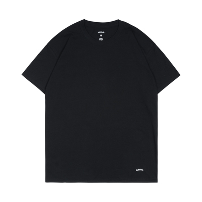 ballaholic 2 Pieces Crew Tee (black)
