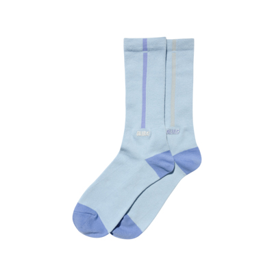 BLHLC Line Socks (sax/lavender blue/light gray)