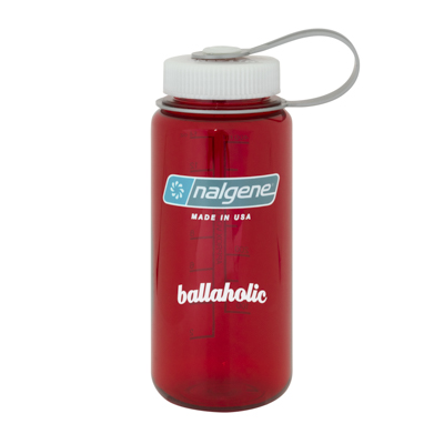 ballaholic x Nalgene Bottle (red)