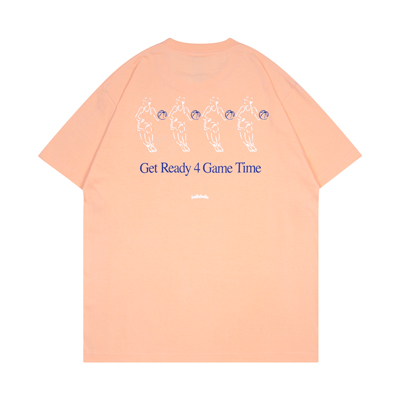 Get Ready 4 Game Time Tee (apricot)
