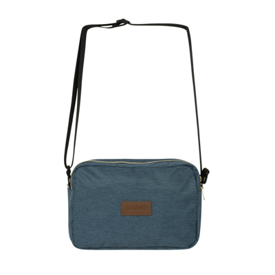 Ripstop CITY Shoulder Bag (heather blue)