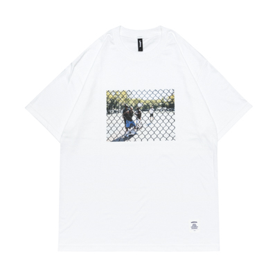 Photo Tee  -A Day In The Cage- (white)