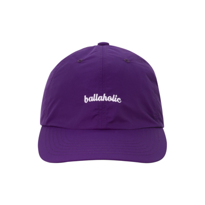 LOGO Nylon 6P Cap (purple)