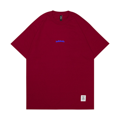 Small LOGO Tee (red/blue)