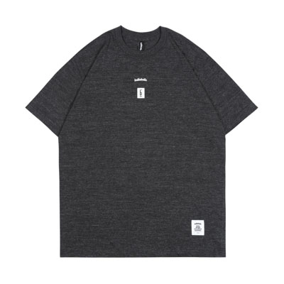 PIGALLE x ballaholic Photo Tee (heather black)