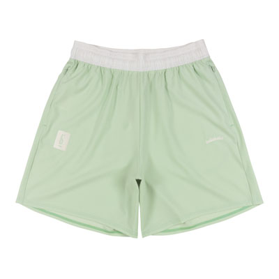 PIGALLE x ballaholic Stretch Zip Shorts (light gr)