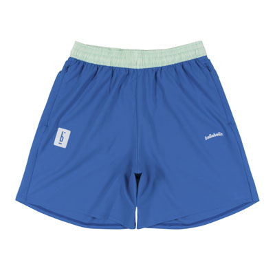 PIGALLE x ballaholic Stretch Zip Shorts (blue)