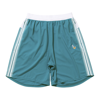 b Playground Zip Shorts (teal blue)