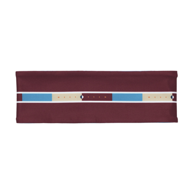 b Playground Reversible Headband (sax/crimson)