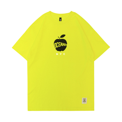 OCEAN11 Big Apple Tee (lemon yellow)